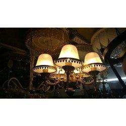 Stainless Steel,Glass Round Decorative Glass Chandelier