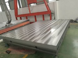 Metrology Cast Iron Bed Plate