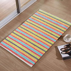 Cotton Floor Rug, Size: 2 X 1 Feet