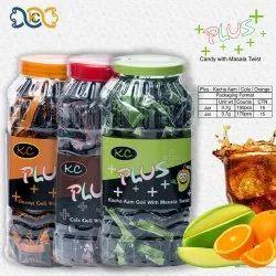 KC KACHA AAM MASALA CANDY PLUS, Packaging Type: Plastic Jar, Packaging Size: 170 Pcs And 150 Pcs Jar