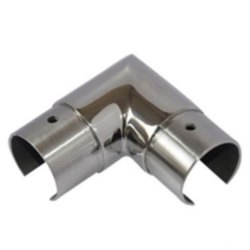 Balcony Glass Railing Pipe Jointer, For Home