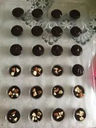 Round Handmade Dry Fruit Chocolate