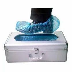 Silver Shoe Cover Dispenser Machine