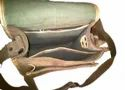 Suede Leather Messenger Bag