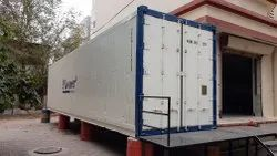 Refrigerated Container With Dual Machine For Storage Catalyst & Peroxide