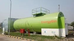 Automated Heating System BIOGAS to ELECTRICITY Plant, For Industrial