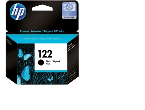 Black HP Ink Cartridge, Model No.: 122
