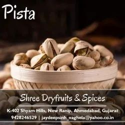 Salted Pistachio Nut, Packaging Type: Pouch, Packaging Size: 1 Kg