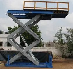 Scissor Lift With Extendable Platform