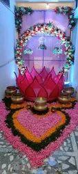 Multicolor Wedding,Engagement flower decoration service, in Hyderabad,Delhi & Gujarat