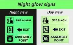 Night Glow Sign Board Printing Service
