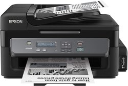 Epson M205 All- In-One Wireless Ink Tank Black And White Printer With Adf, Black
