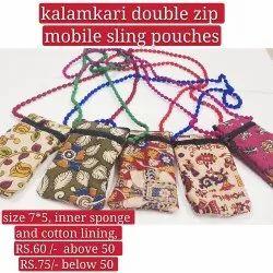 Kalamkari Mobile Pouch