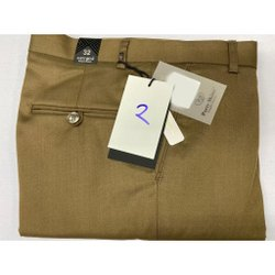 Party Skins Formal Wear Mens Cotton Slub Lycra Trousers, Size: 30-36 inch