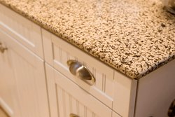 Crystal Yellow Granite Slabs / Tiles