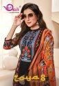 Devi Zoya Vol-8 Cotton Printed Dress Material Catalog Collection