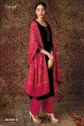 Party Wear Ganga Brand Dress Material