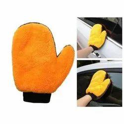 Adoniz Microfiber Coral Mitt Cleaning Glove