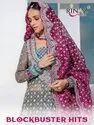 Rinaz Fashion Blockbuster Hits Georgette With Embroidery Work Pakistani Salwar Kameez Catalog