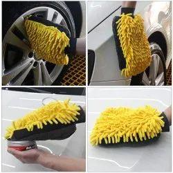 Adoniz Microfiber 3 In 1 Wash  Glove