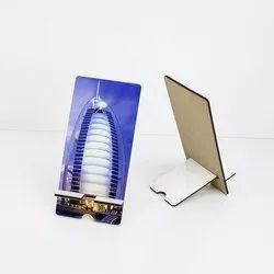 White MDF Sublimation Mobile Stand, Size: Small
