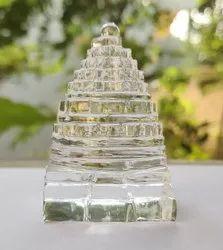 Natural Crystal Shree Yantra - 205 gram