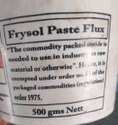 Frysol Paste Flux