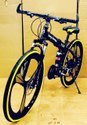 Black Yellow Being Human Foldable Cycle