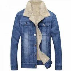 Full Sleeve Casual Wear Men Denim Jackets