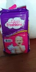 FRESHKINS Cotton S-48 PCS BABY DIPERS, Age Group: 3-12 Months, Packaging Size: Small