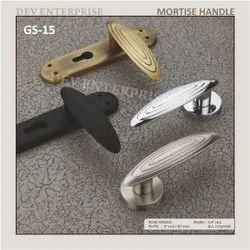 7 HORSE MORTISE HANDLE (ZINC ), For HOME, OFFICE AND HOTEL