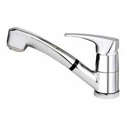 Chrome Finish Brass Wash Basin Tap
