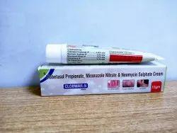 Cloberasol Propionate, Miconazole Nitrate Sulphate Cream