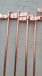 Copper Bonded Earth Rod Welded With Clamp 'T' Type