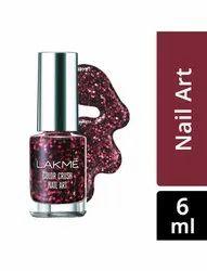 Pink Lakme Nail Polish, Liquid, Packaging Size: 6 Ml