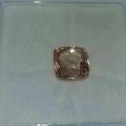 Natural Square Sapphire Gemstone, 3 Carat