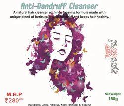 Zaroori Naturals Anti-Dandruff Cleanser - Natural, Packaging Size: 150gms