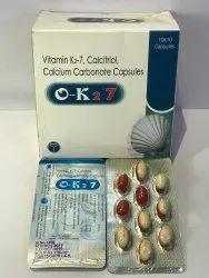 Vitamin K2 7 Calcitriol Calcium Carbonate OK 2 7 Capsule