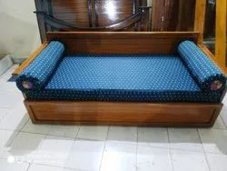 Sofa cum Cot Bed with Storage
