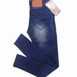 Denim Faded Mens Blue Designer Jeans, Waist Size: 28 to 34