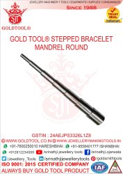 Gold Tool Stepped Bracelet Mandrel Round