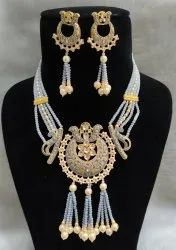 Meenakari Choker Necklace Set