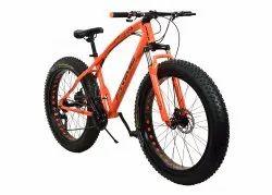 Prime Orange Jaguar Fat Tyre Cycle