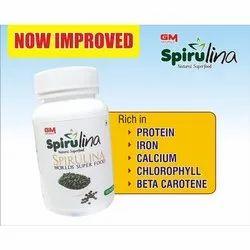 Spirulina WCR LDC Super Food Tablet, 120 Tablets