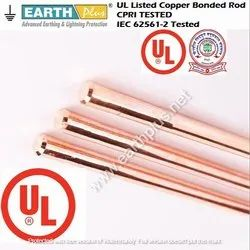 UL Listed Copper Bonded Rod 25 mm, 17.2 mm, 14.2 mm