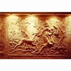 Decorative Terracotta Tiles, For Wall, Size: 4 X 3 Feet