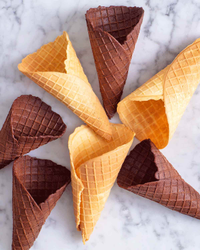 WAFFLE CONE PREMIX, Packaging Size: 1 Kg And 25 Kg Bag, Vanila And Chocalate