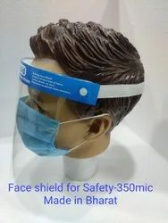Face Shield For Safety-350 Mic