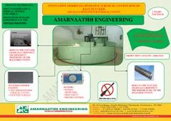 Innovative Circular Bale Pluckier For  Absorbent Cotton Plant /Blowroom