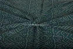 Jaipuri Bandhej Hand Block Printed Sewing Cotton Fabric Cotton Block Printed Women Clothing Fabric